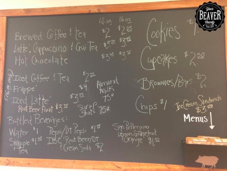 Mezza Luna Cafe Menu