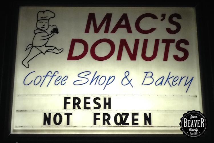 Mac's Donuts Aliquippa