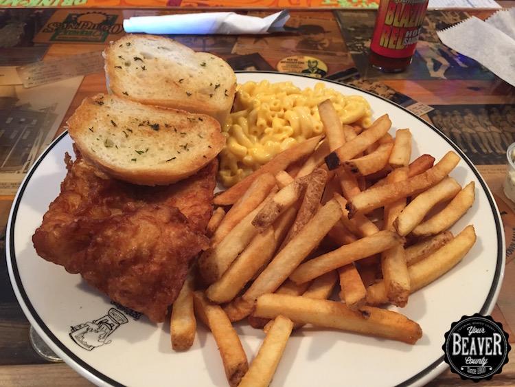 Backdoor Taver Fish Sandwich