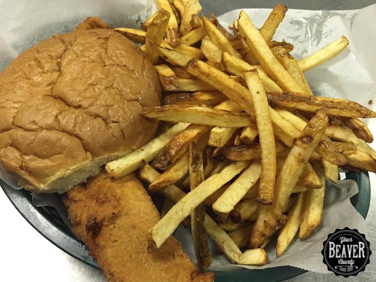 Bowser's Fish Sandwich