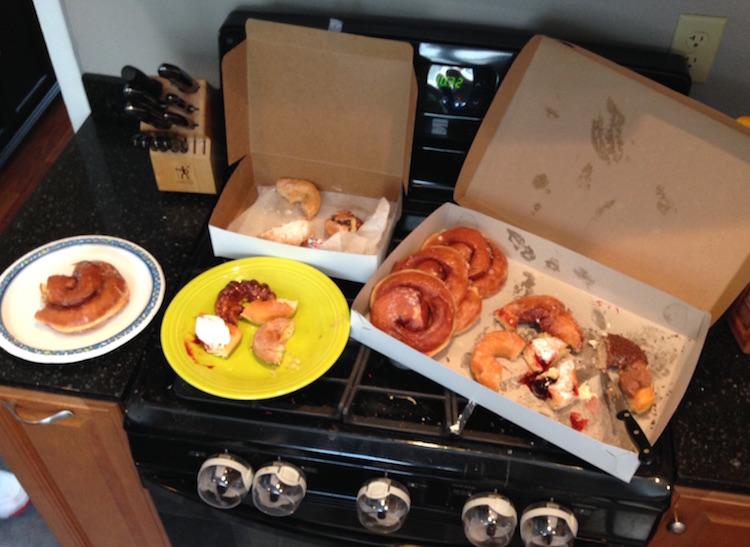 Beaverhausen Family Donut Carnage