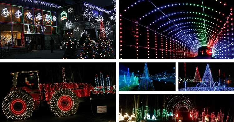 Three Must-See Holiday Light Displays - Your Beaver County:christmas-light-displays,Lighting