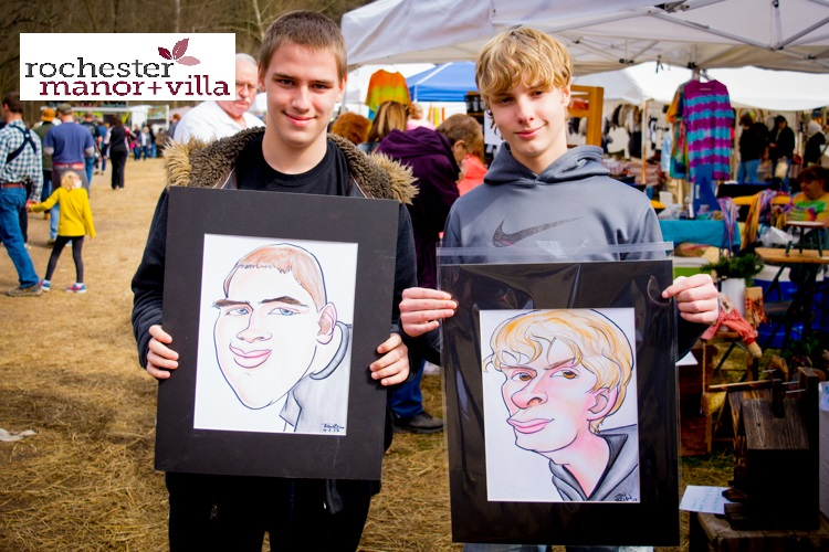 034 Nick & Nate Caricatures 1