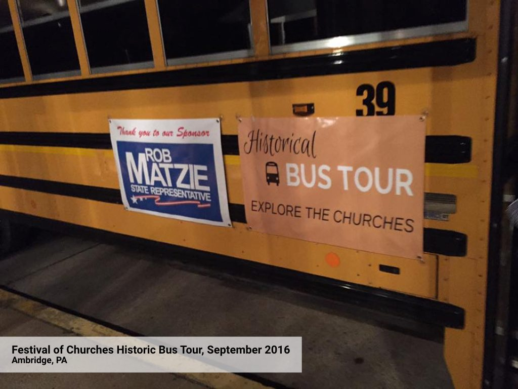 Second Chance Bus Tour - Bus