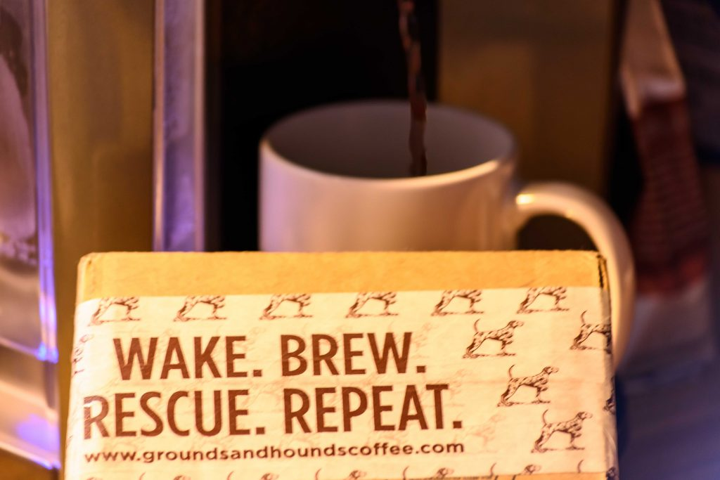 2 Grounds and Hounds Wake Brew Rescue Repeat