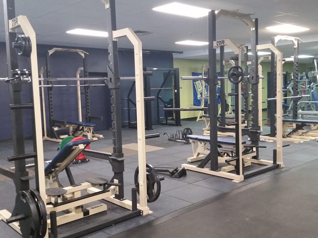 3000 sq ft olympic.powerlifting area