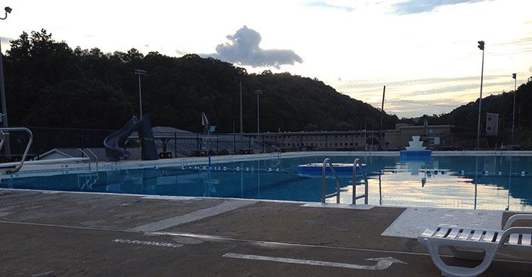 beaver pool piscine