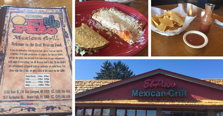 Great Mexican Restaurants In El Paso